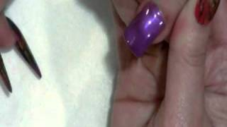 No Chip Manicure Using Artisan Soak Color Gel Part 2