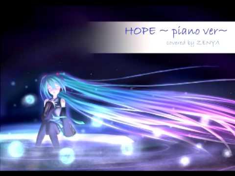 【Zenya】 HOPE~ piano ver【歌ってみた】