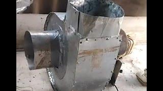 видео вентилятор улитка для вытяжки