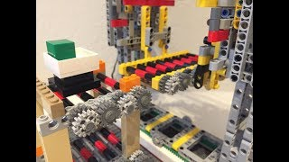 Third prototype - Vertical lift for large Lego warehouse, by Sioux.NET on Track