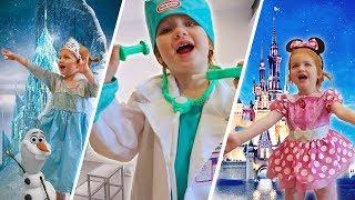 45 KIDS COSTUME RUNWAY SHOW Disney Princess Ana & Elsa Frozen, Minnie Mouse, Peppa Pig