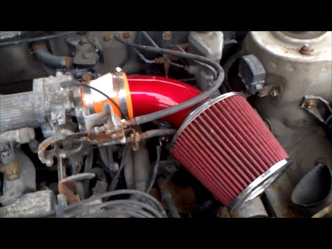 302 Engine Diagram Installing A Custom Air Intake On A Toyota Corolla Youtube