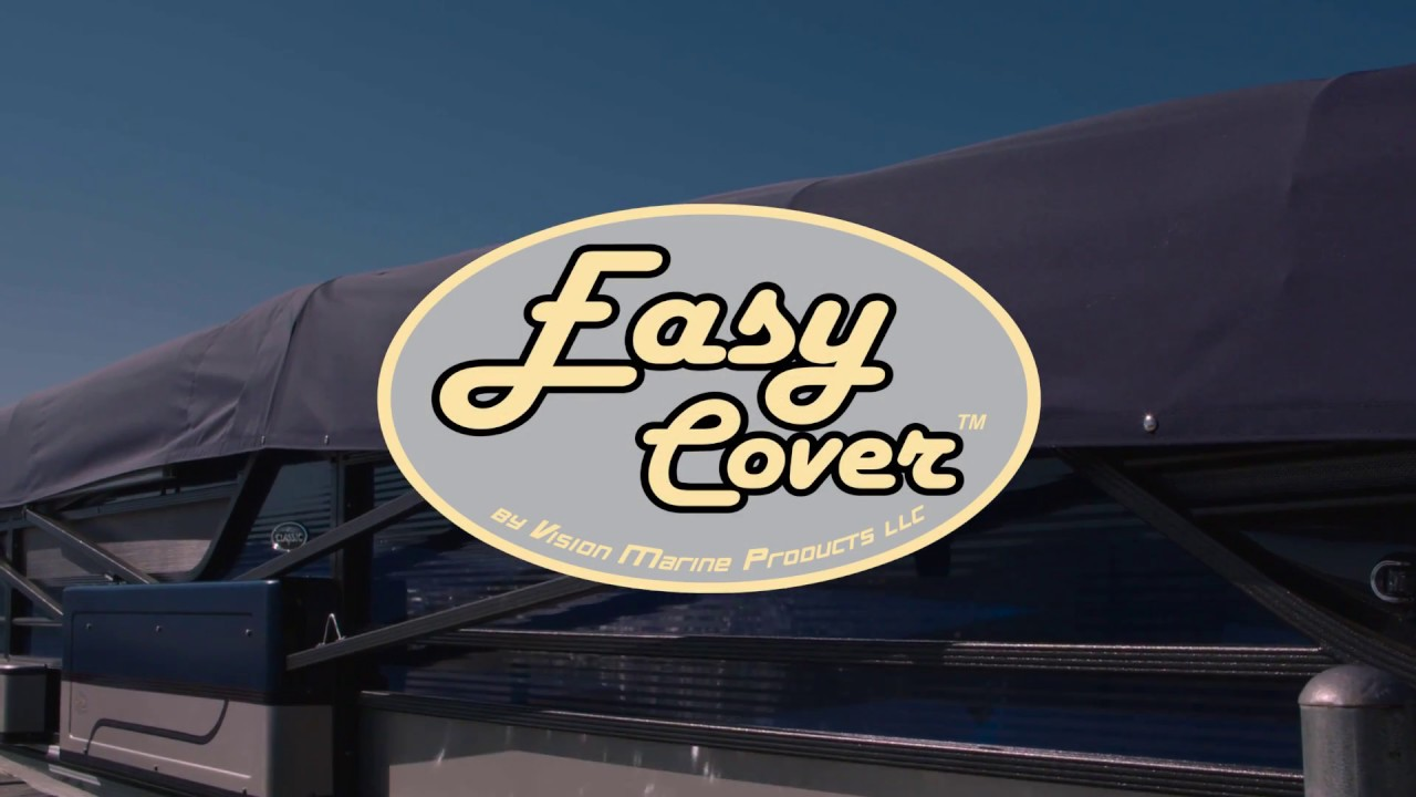 Easy Cover, An Automatic Pontoon Boat Cover System