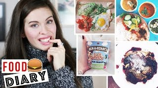 FOOD DIARY #15: Meine ERNÄHRUNG | EINE WOCHE | VEGETARISCH bis Fast Food | GESUND und UNGESUND