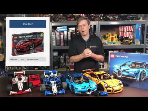 Lego Bugatti Chiron 42083 Comparison and Review