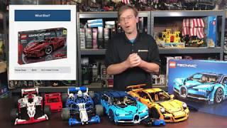 Lego Bugatti Chiron 42083 Comparison and Review