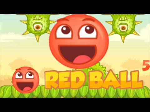 red ball 5 walkthrough