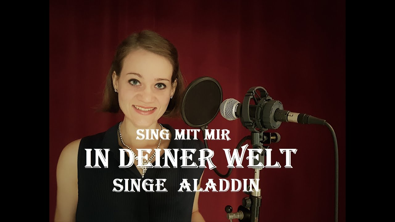 Sing Mit Mir In Deiner Welt Aus Dem Disneyfilm Aladdin Duett