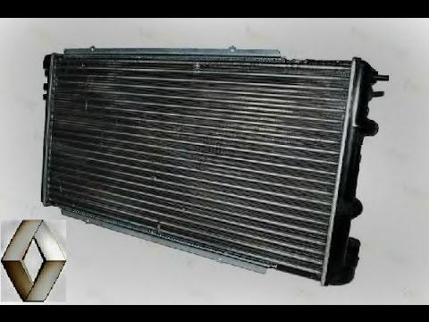 Замена радиатора охлаждения и конденсора Рено Мастер / Renault Master radiator replacement