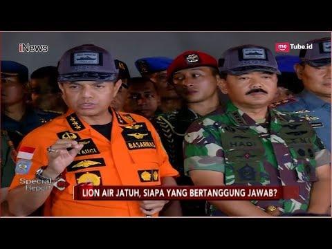 Konpers Kepala Basarnas, Ping Locater Black Box Lion Air JT 610 Terdeteksi - Special Report 31/10 Mp3