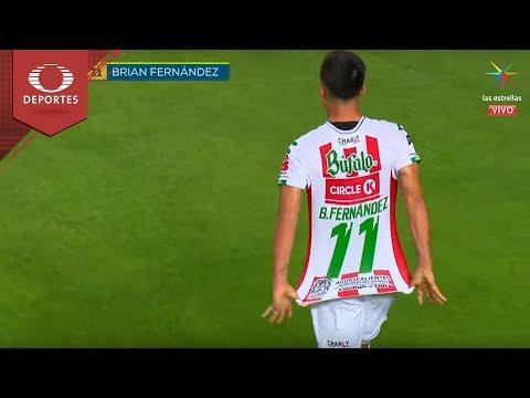 Gol de Brian Fernández | Necaxa 2 - 1 América | Apertura 18 - Jornada 1 | Televisa Deportes