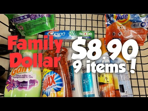 Family Dollar $5/$25 Deal! Anybody Can Do This!