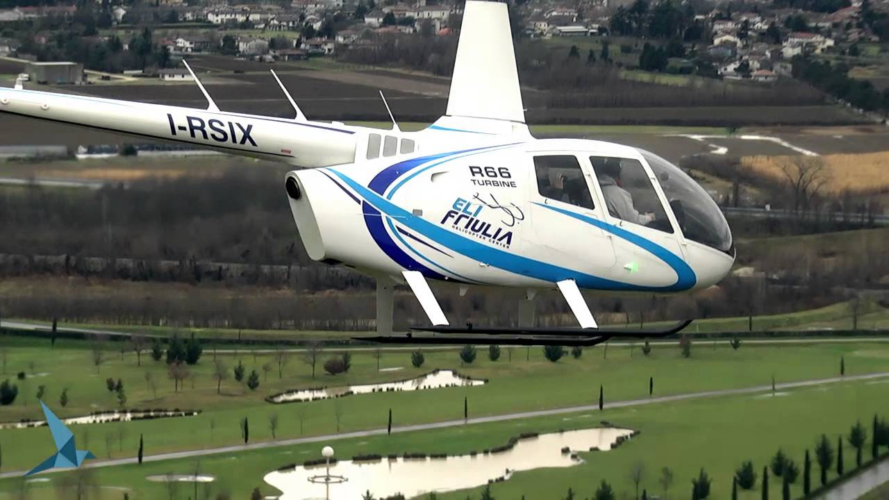 Elicottero R66 : Il robinson r di elifriulia in volo youtube