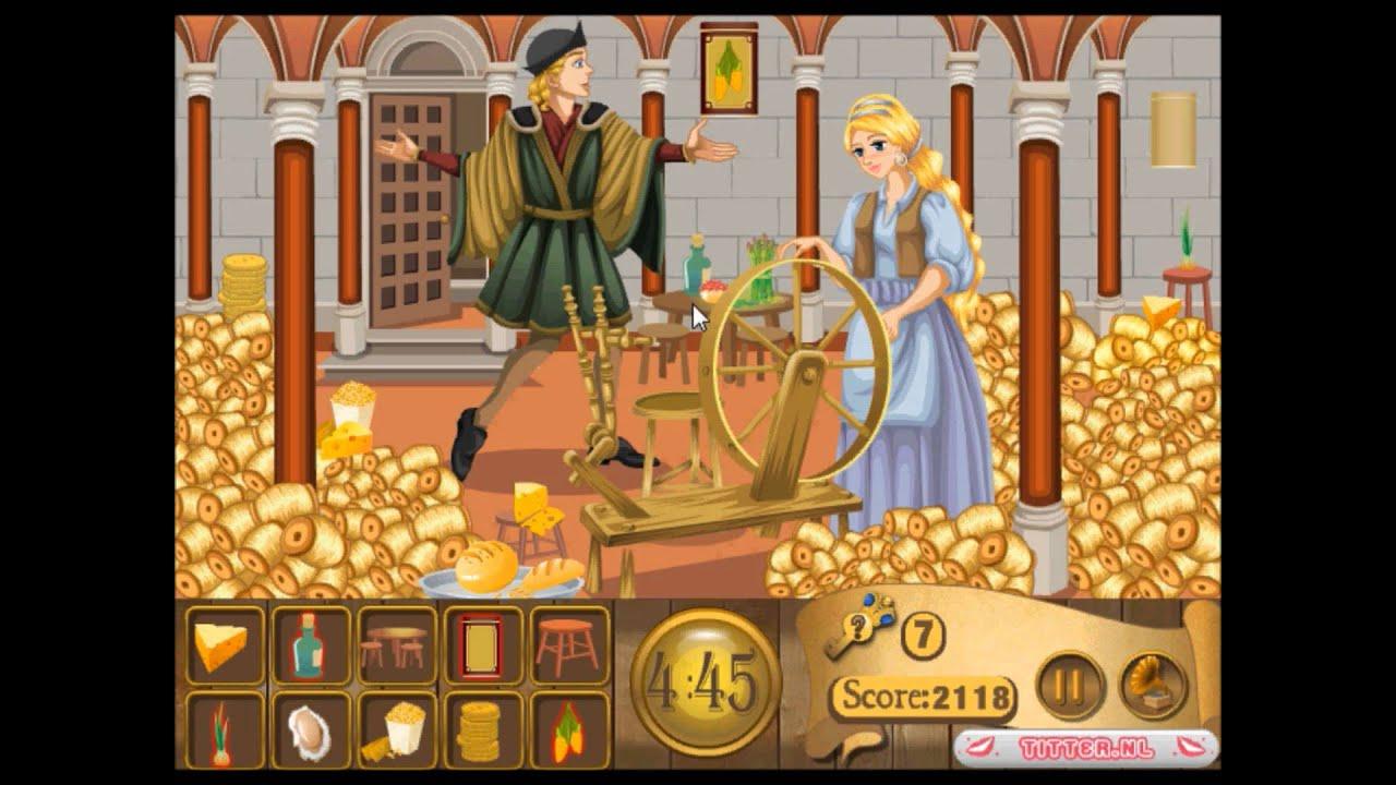 Rumpelstiltskin Hidden Objects - Fairy Tale Girl Games - game ...