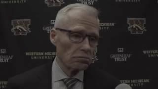 WMU Hockey Post Game Presser - University of Minnesota Duluth (2/23) thumbnail