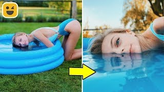 Crazy and Creative Photo Ideas & Phone Photo DIY Life Hacks
