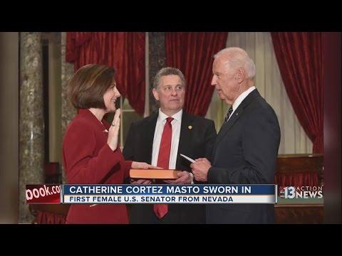 Cortez Masto takes Senate seat as first Latina, Nevada woman
