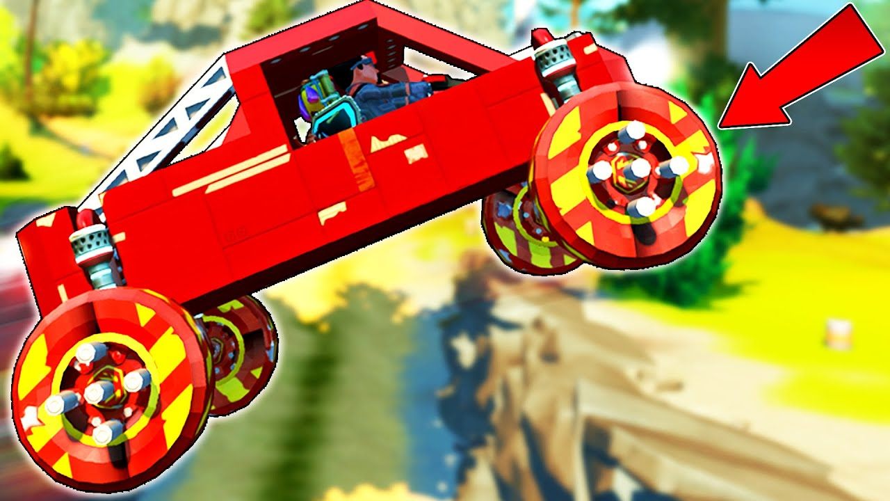 We Raced with Wheels that are Literally Explosives! - Scrap Mechanic Multiplayer Monday
