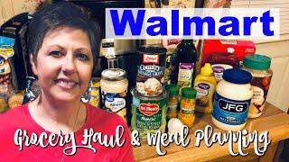 Walmart Grocery Haul / How I Plan My Meals