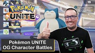 OG Pokémon Battles on Pokémon UNITE for Nintendo Switch