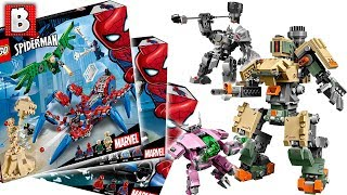 New LEGO Spiderman Sets and Overwatch Sets Revealed!!! LEGO News