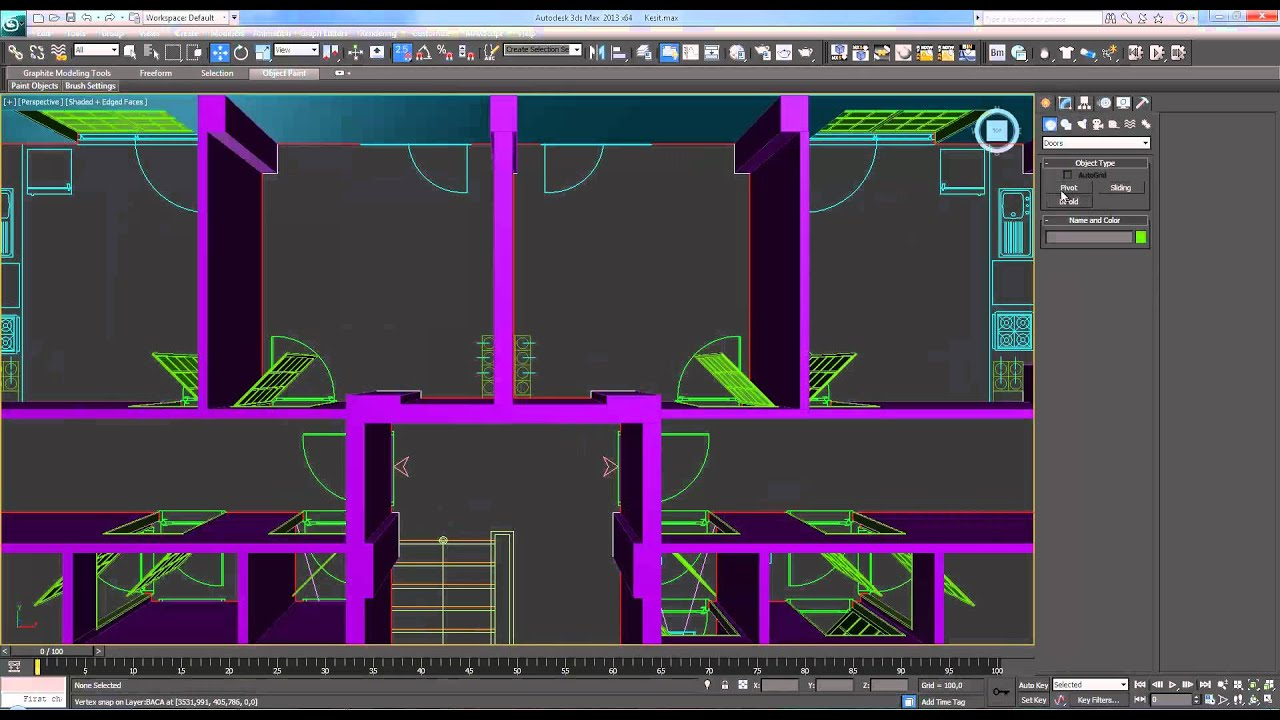 how to draw a 3d building in autocad