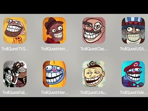 Troll Quest TV,Troll Horror,Troll Classic,Troll USA,Troll Failman,Troll Internet,Troll Unlucky