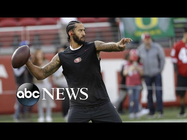 Multiple NFL teams to send reps to Colin Kaepernick's workout l ABC News