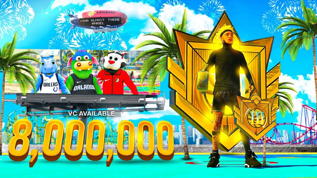 Download I HIT ELITE 3 & SPENT 8 MILLION VC ON SECRET MASCOTS ON NBA 2K21