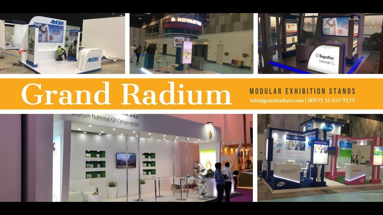 Modular Exhibition Stand Years : Modular exhibition stands grand radium
