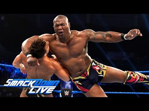 Chad Gable vs. Shelton Benjamin – King of the Ring First-Round Match: SmackDown LIVE, Aug. 27, 2019