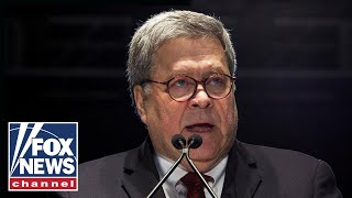 Barr speaks at the Federalist Society's National Lawyers Convention