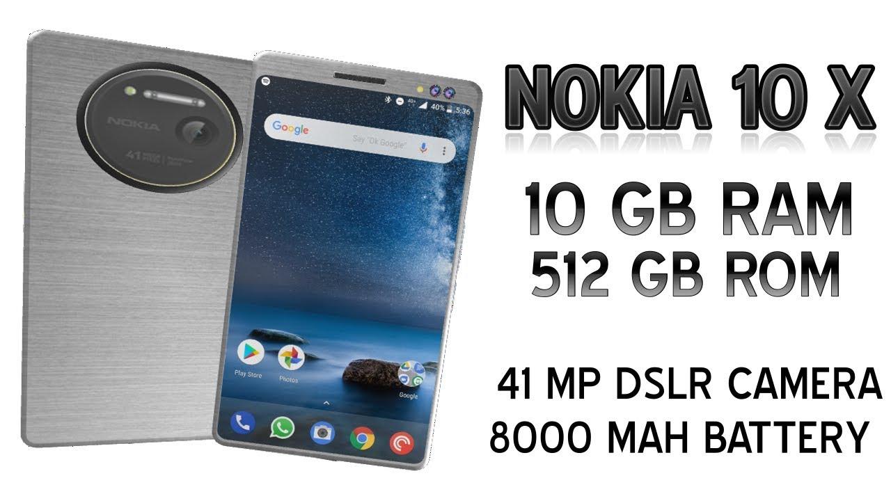 NOKIA 10X CONCEPT | 10 GB RAM | 8000 MAH BATTERY AND DSLR CAMERA | THE  KILLER