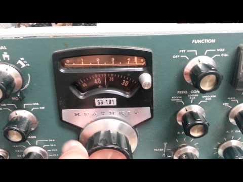 Heathkit SB 101 HF Transceiver YouTube