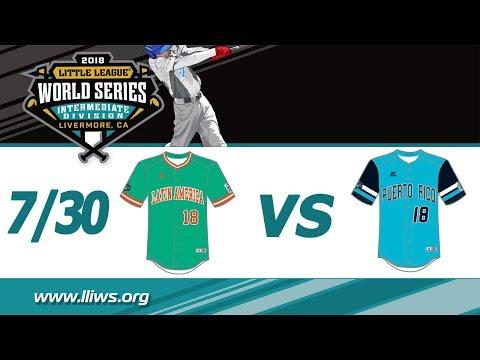 2018 Intermediate World Series Game 5: Latin America vs Puerto Rico