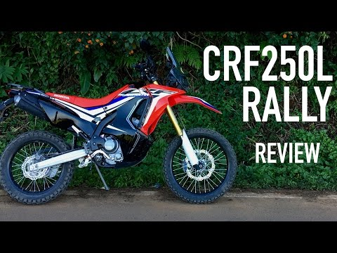 2017 CRF250L Rally - Review