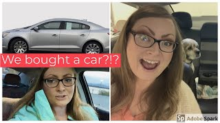 Anemia update, We bought a car?!!? Weekly VLOG