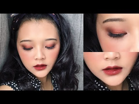 Simple and Easy Bold Makeup | RIRIEPRAMS - YouTube