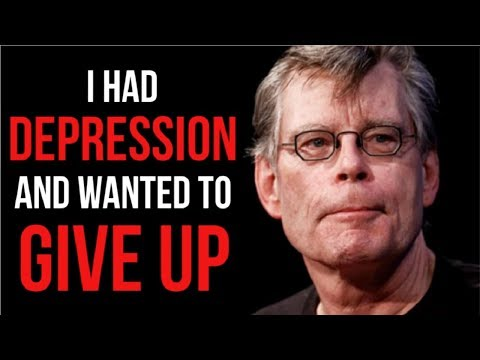 The Motivational Success Story Of Stephen King – From Depression And Failure To Worldwide Bestseller
