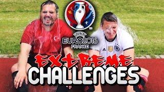 EXTREME EURO 2016 CHALLENGES FT QUIZ + CROSSBAR CHALLENGE TÜRKEI VS DEUTSCHLAND