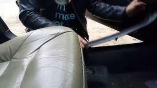Как поменять обшивку под ногами в VOLVO V70 [Change the skin under your feet in VOLVO]