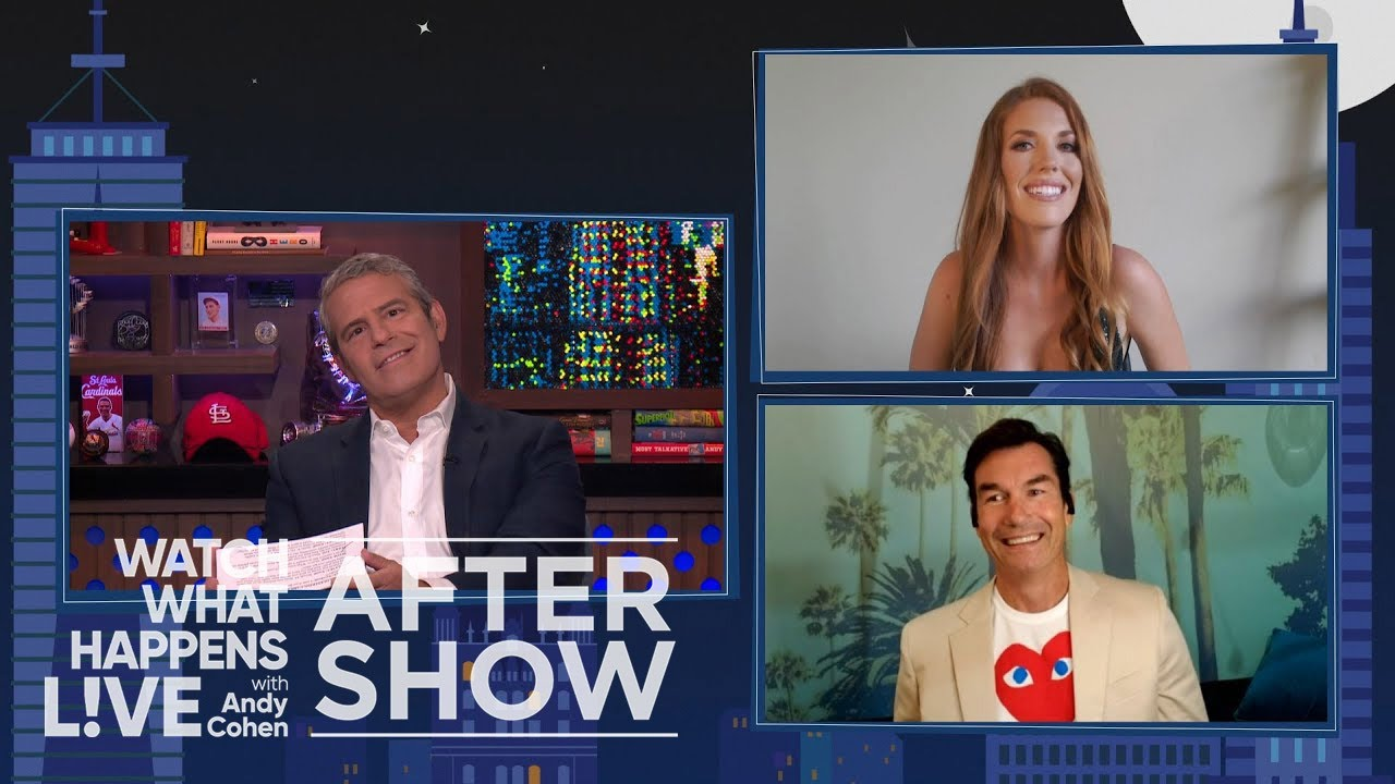 Was Malia White Flirting With The Engineer? | WWHL