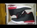 UnBoxing Jordan Academy Black Grey And Red