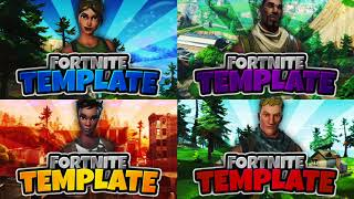 NEW FREE FORTNITE YOUTUBE THUMBNAIL TEMPLATE! - (New Free Fortnite GFX Thumbnail Template)