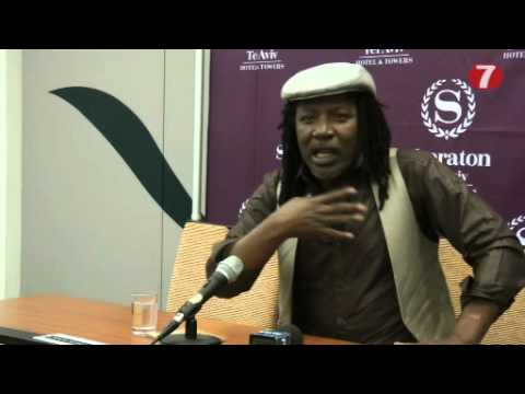 """Reggae Star Alpha Blondy in Israel: """"Deep Spiritual Connection to this Land"""""""
