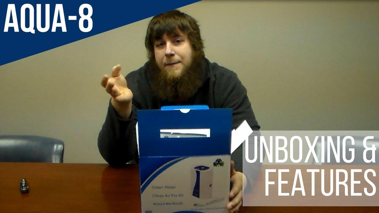 b7de194f6e9deb Aqua-8 Ozone Generator Unboxing and Features - YouTube