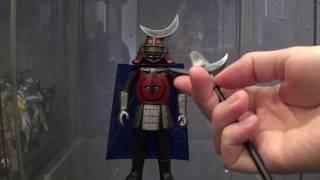 Rainbow Goranger Kendo Mask review 秘密戦隊ゴレンジャー 剣道仮面