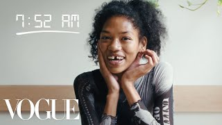 How Top Model Symone Lu Gets Runway Ready | Diary of a Model | Vogue
