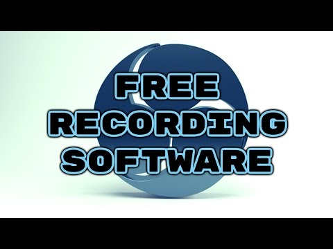 Free Recording Software OBS Studio
