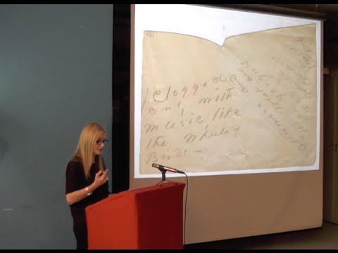 Branka Arsić : Object-Poems – On Emily Dickinson's late poetics